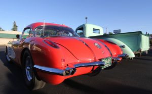 Red Vette butt by finhead4ever