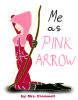 i am the pink arrow!!! by MrsCromwell
