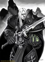 arthes the death knight by thevampiredio