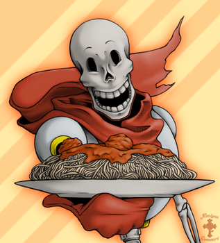 Papyrus Spaghetti by RoslynnSommers
