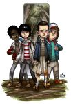 MiniCharacters - Stranger Things by NicolasRGiacondino