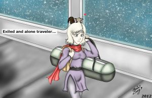 KOTOR-Exiled Traveler... by MaskedSugarGirl