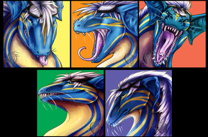 Moods of Blue by Aevix