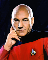 Picard by 1CyberNinja1