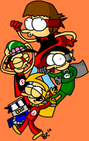 SuperZeroes: Me and The Four by BuddyComics