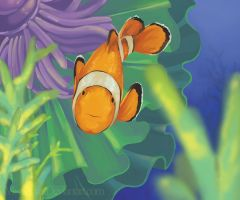 Clown Fish by MissPinks