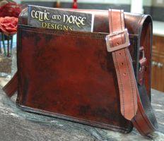 Messenger Bag by Blackthornleather