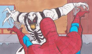Spider-man VS Anti-Venom by spyder8108