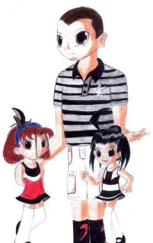 Me and my little terrors by Griddles