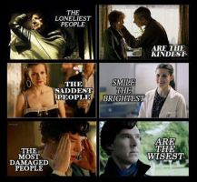 BBC Sherlock: The Loneliest, Saddest and Damaged by JadeKiraWebb