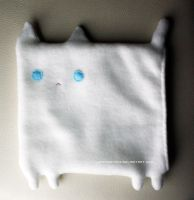 White kitty tablet cover by designslave