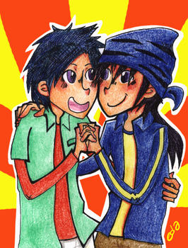 Digimon Frontier: Twins by eda1102