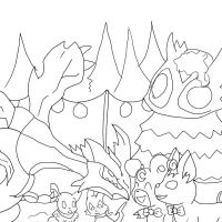 PMD Event 4 Part 1 Lineart by roryrrules123