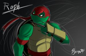 Turtle Time - Raph by SycrosD4