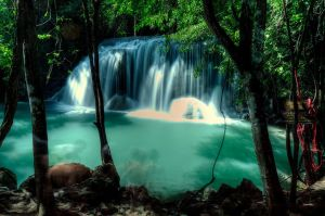 Erawan Waterfalls I by kdiff3
