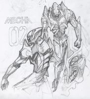 mecha concept 02 by whiteseer
