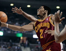 Kyrie Irving Vector by scubastizz