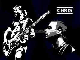 Muse - Chris Wolstenholme by theclartis