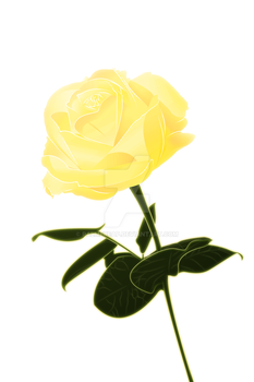 Golden Rose: Commision by palmereap