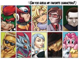 Favorite Character Meme by hollowzero