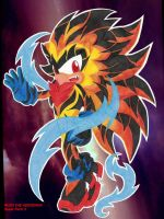 RUSH THE HEDGEHOG Super Form 3 by Chase-TH