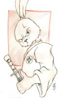 warm up: usagi yojimbo by road2damascus