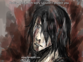 Byakuya - Sorry I couldn't protect my family. by Elilian