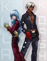 K' and Kula by Rekkiem