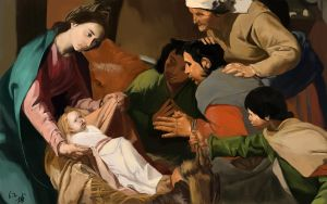 Adoration of the Shepherds by blcf