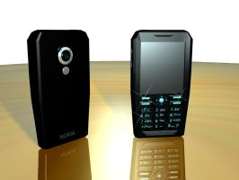 My first mobile phone by paskoff