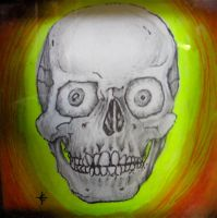 Skull by TOMMYtheSQUID