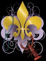 Louisiana Mardi Gras by LeeAnneKortus