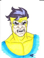 Invincible marker pin by MARR-PHEOS