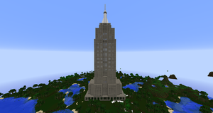 Minecraft - Empire State Building by MinecraftArchitect90