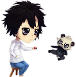 L and Pancham by WatchingAfter