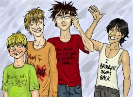 The Marauders--Read the Shirts by Alatariel-Amandil