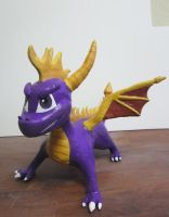 Spyro the Dragon toy by MelissaRTurner