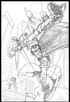 Teen Titans by -adam-