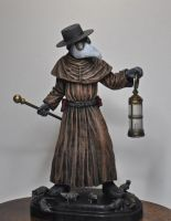 Plague Doctor, painted by DellamorteCo
