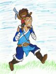 Sokka and Bumi - Bendless Boomerangers by Bleu-Ninja