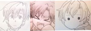 Tamaki Faces by AnimeLoverOCD