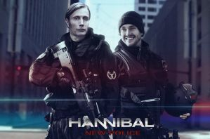 Hannibal New Police poster by BioGear