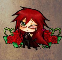 :: Chibi Grell :: by RedGrellyBean