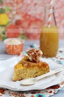 Upside down apple cake by kupenska