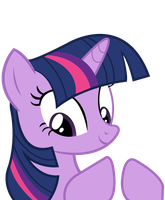 Twilight Sparkle - have any questions? by JoeMasterPencil