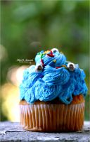 Blue cupcake . . . by Sha59-Ananii