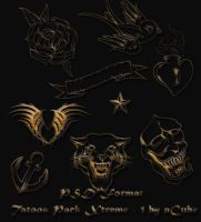 Tatoos Xtreme Pack 1 by dncube