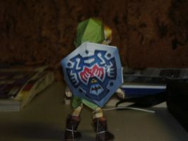 Papercraft Young Link 2 by Esteban1988