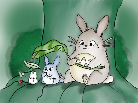 Totoro - Paint Along by Anipzis