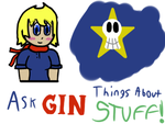 Ask Gin Things about Stuff by Planet-i-Studios